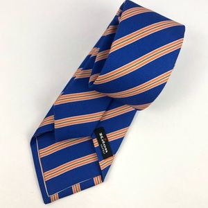 KITON Striped 100% Silk Neck Tie